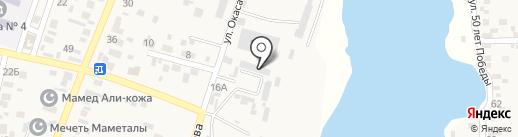 Ак пласт на карте Жапека Батыра