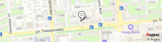 Мастерская по заточке режущих инструментов и изготовлению ключей на карте Алматы