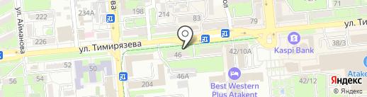 Gezder Shop на карте Алматы