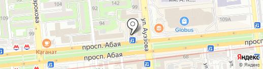 Казахинстрах на карте Алматы