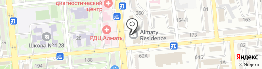 Dance Art Club на карте Алматы