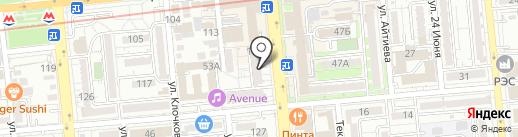 Forever на карте Алматы