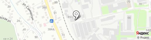 Уркер Аш, ТОО на карте Алматы