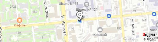 Сентрас Иншуранс на карте Алматы