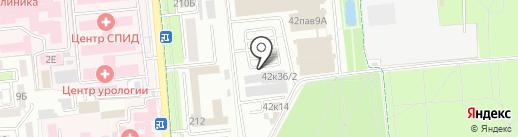 На Атакенте на карте Алматы