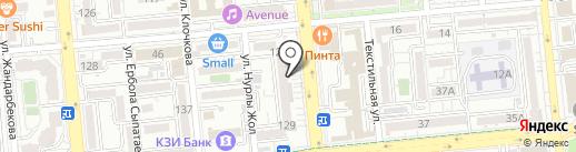 Линзочки на карте Алматы
