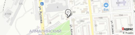 ШЕКИ на карте Алматы