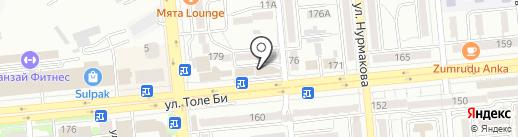 Республиканский центр помощи предпринимателям, ТОО на карте Алматы