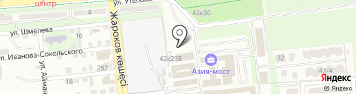 Архитектурная мастерская Сакена Нарынова на карте Алматы