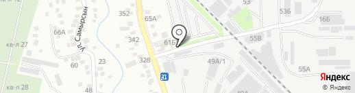 Маяк на карте Алматы