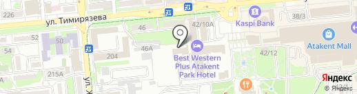 Sep на карте Алматы