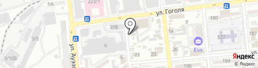 Panantukan Almaty на карте Алматы