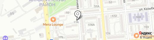 Моя радость на карте Алматы