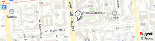 Актуальная книга на карте Алматы