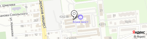 IT-Complex на карте Алматы
