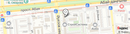Artparovoz на карте Алматы