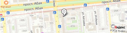 YesCentrum Continental на карте Алматы