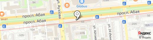 Нурполис на карте Алматы