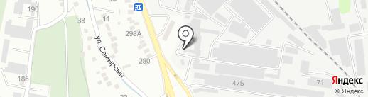 Альта-Профиль KZ на карте Алматы