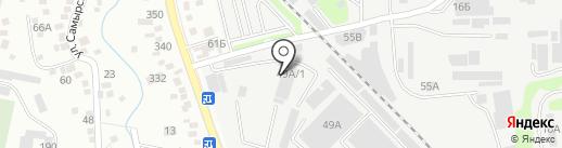 Бульдорс на карте Алматы