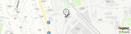 Ансар Констракшн на карте Алматы