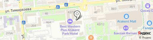 WTCA на карте Алматы
