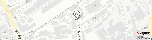 Интер-Контакт на карте Алматы