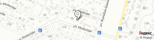 Нур-Дана на карте Алматы
