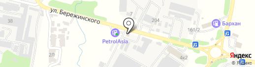 Эйкос на карте Первомайского
