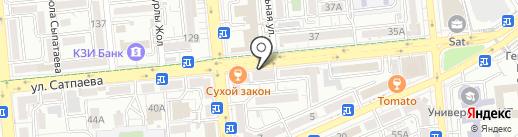 Нур-Каз Интернационал на карте Алматы
