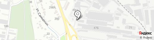 Темир LTD на карте Алматы