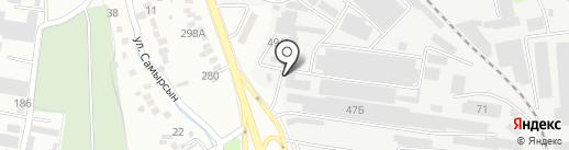 Алтын Жол, ТОО на карте Алматы