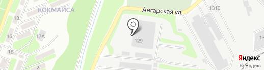 Гарант-А на карте Алматы