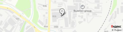 Вымпел Group, ТОО на карте Алматы