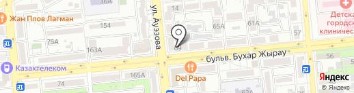 Zабей tattoo на карте Алматы