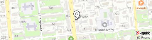 SIVI на карте Алматы