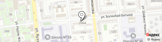 Аримари на карте Алматы