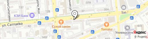 Добрыня на карте Алматы