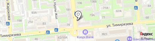 Strapon.kz на карте Алматы