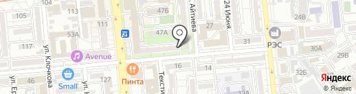 Эльза на карте Алматы