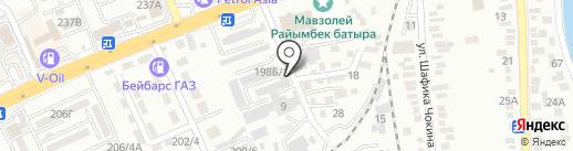 AMP на карте Алматы