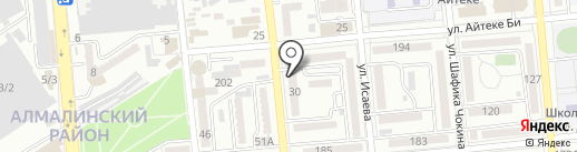 Дукен на карте Алматы