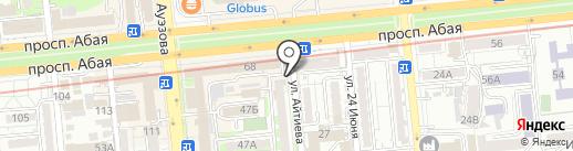 Эрудит на карте Алматы