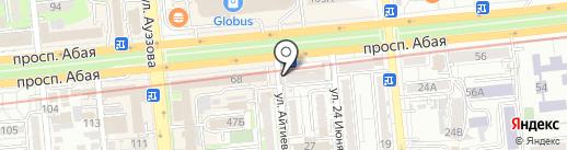 Гидроспецстрой на карте Алматы
