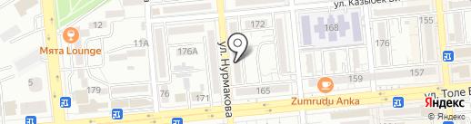 Астория на карте Алматы