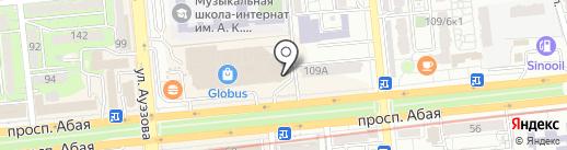 Halyk Finance на карте Алматы
