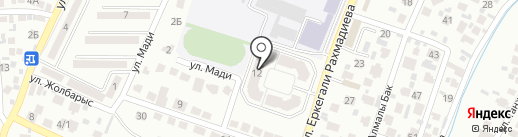 Dolphin Dive Club на карте Алматы