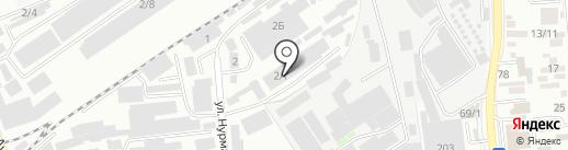 MVL, ТОО на карте Алматы