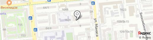 Квадро-Сервис на карте Алматы