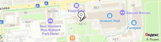 Ornat на карте Алматы